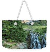 Early Morning At Myrtle Falls Weekender Tote Bag