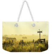 Early Morning At The Farm Weekender Tote Bag