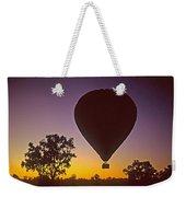 Early Morning Balloon Ride Weekender Tote Bag