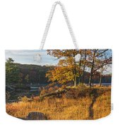 Early Morning Blaze Weekender Tote Bag