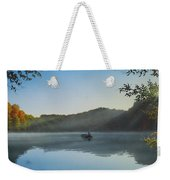 Early Morning Catch Weekender Tote Bag