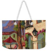 Early Morning Coffee At Old Town La Quinta Weekender Tote Bag