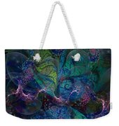 Early Morning Dew Sparkles Weekender Tote Bag