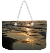 Early Morning Fishing Weekender Tote Bag