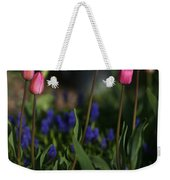 Early Morning Garden Weekender Tote Bag