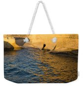 Early Morning Gold At Valletta Fortifications Weekender Tote Bag