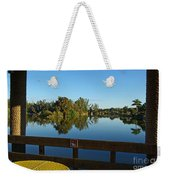 Early Morning In Lakes Park Fort Myers  Weekender Tote Bag