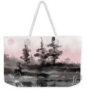 Early Morning In The Forest Weekender Tote Bag