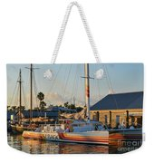 Early Morning In The Harbor Weekender Tote Bag