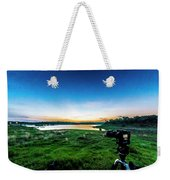 Early Morning Light Capture Weekender Tote Bag
