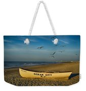 Early Morning Ocean City Nj Weekender Tote Bag