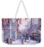 Early Morning On The Avenue In May 1917 - 1917 Weekender Tote Bag
