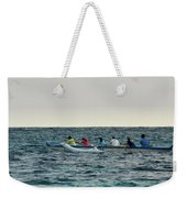Early Morning Outing Weekender Tote Bag