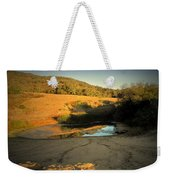 Early Morning Pond Weekender Tote Bag