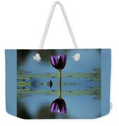 Early Morning Reflection Weekender Tote Bag