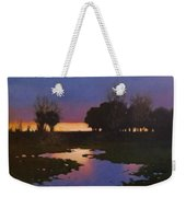 Early Morning Rice Fields Weekender Tote Bag