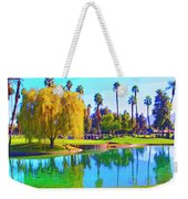 Early Morning Tee Time Weekender Tote Bag