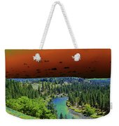Early Morning Thoughts Weekender Tote Bag