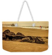 Early Morning Tybee Beach Weekender Tote Bag