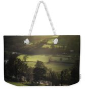 Early Morning Welsh Sheep Farming Weekender Tote Bag