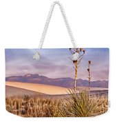 Early Morning Yucca - White Sands - New Mexico Weekender Tote Bag