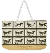 Early Photography, 1878 Weekender Tote Bag