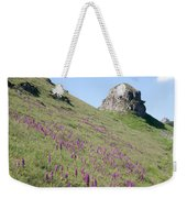 Early Purple Orchids In The Derbyshire Dales Weekender Tote Bag