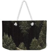 Early Snow Weekender Tote Bag by Caspar David Friedrich
