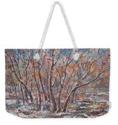 Early Snow. Weekender Tote Bag