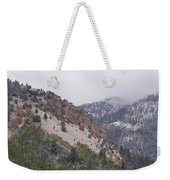 Early Snows Weekender Tote Bag