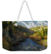 Early Spring Delores River Weekender Tote Bag