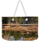 Early Spring Marsh Weekender Tote Bag