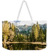 Early Spring Reflections Weekender Tote Bag
