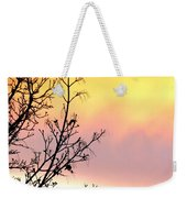 Early Spring Sunset Weekender Tote Bag