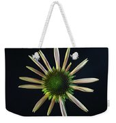 Early Stage Of Cone Flower Bloom Weekender Tote Bag