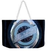 Early Studebaker Grill Emblem Weekender Tote Bag