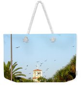 Early Sunday Morning In Daytona Beach 002 Weekender Tote Bag