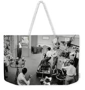 Early Television Production 1947 Weekender Tote Bag