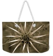 Early Thistle Weekender Tote Bag