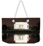 Early Washington Mornings - Lincoln Reflecting Weekender Tote Bag