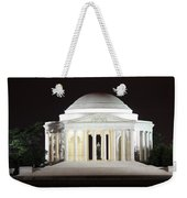 Early Washington Mornings - The Jefferson Memorial Weekender Tote Bag