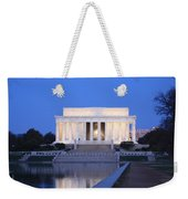 Early Washington Mornings - The Lincoln Memorial Weekender Tote Bag