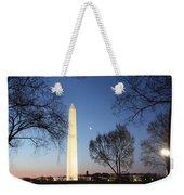 Early Washington Mornings - The Washington Monument Weekender Tote Bag
