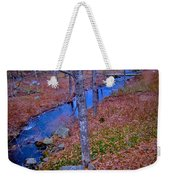 Early Winter Weekender Tote Bag