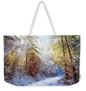 Early Winter's Walk Weekender Tote Bag