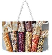 Ears Of Indian Corn Weekender Tote Bag