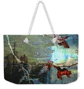 Earth Abstract Weekender Tote Bag