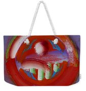 Earth Button Weekender Tote Bag