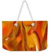 Earth-coloured Weekender Tote Bag