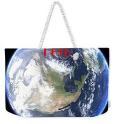 Save The Earth Weekender Tote Bag